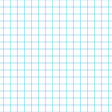 notebook paper: Checkered notebook paper vector seamless pattern. Graph paper background.
