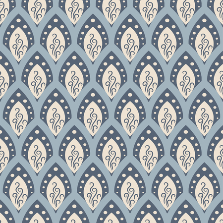 fish scale: Abstract fish scale pattern in oriental style.