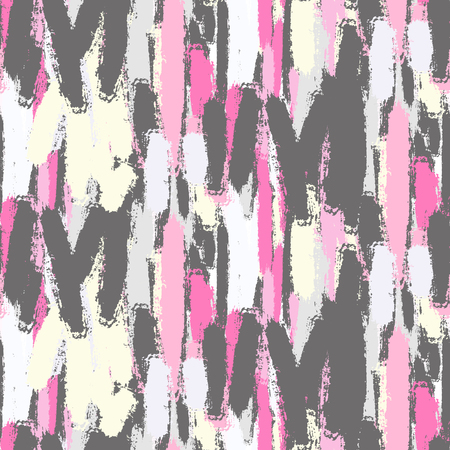 smudge: Abstract pastel color brush strokes seamless pattern. Stock Photo