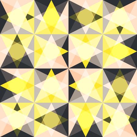 Kaleidoscope glass mosaic tiles. 向量圖像