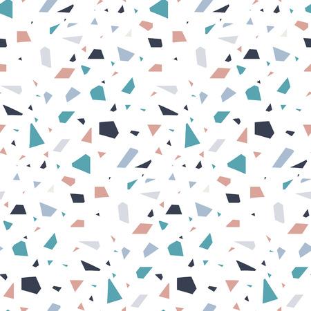 Fondo abstracto de la textura del piso del terrazo de piedra del granito. Foto de archivo - 85246167
