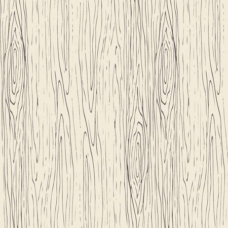 Wzór słojów drewna bez szwu. Drewniane tekstury jasny beż i szare tło wektor.