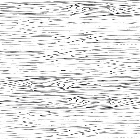 シームレスな木目調グレー パターン。木製テクスチャ ライトカーブのベクトルの背景。