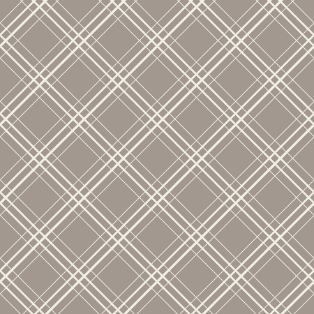 Diagonal checks seamless vector pattern geometric repeating background. Illustration