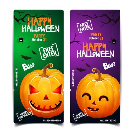Halloween pumpkin head jack lantern poster