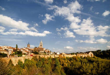 The old Spain City from wall