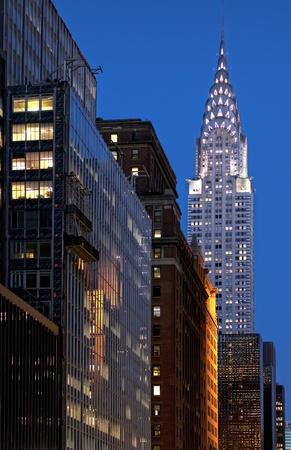 A Manhattan view at night