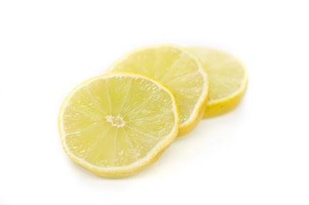 Fresh limes Isolated on white background Stock Photo - 16587398