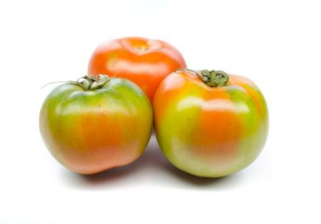 Tomatoes isolated on white background Stock Photo - 16687449