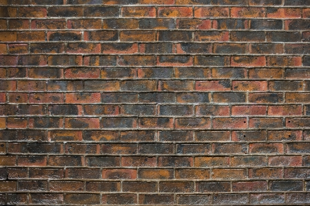 briks: Old wall of red briks, background Stock Photo