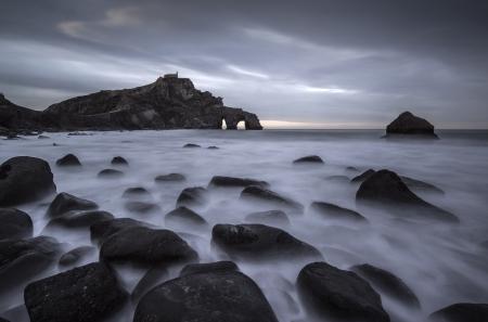 San Juan de Gaztelugatxe, coast of north Spain