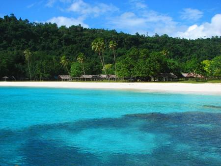 Beautiful, famous Champagne Beach, Vanuatu, South Pacific