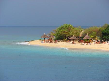 小さな島、ヤサワ諸島, フィジー 写真素材