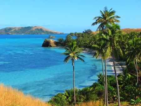 Nacula Insel, Yasawa Inseln, Fidschi  Standard-Bild - 4284121