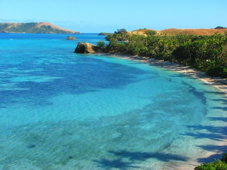 Nacula 島、ヤサワ諸島, フィジー