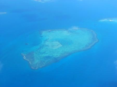小さな島、ニューカレドニア、南太平洋からの眺め