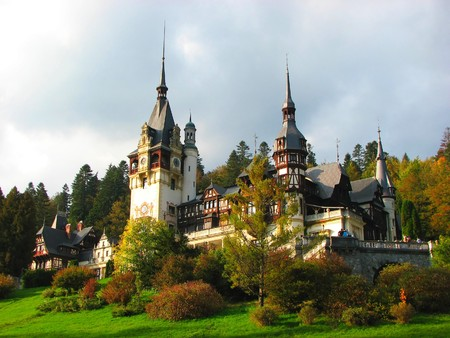Sinaia castle, Romania, Europe