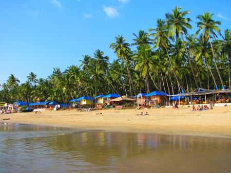 Palolem 熱帯ビーチ、ゴア、インド 写真素材