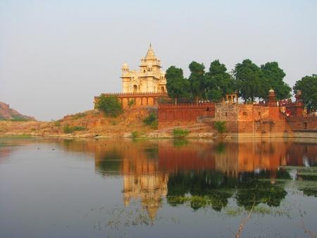 rajput: Jaswant Thada, a small Taj Mahal, Jodhpur, India