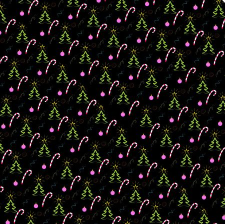 black New Year or Xmas background photo