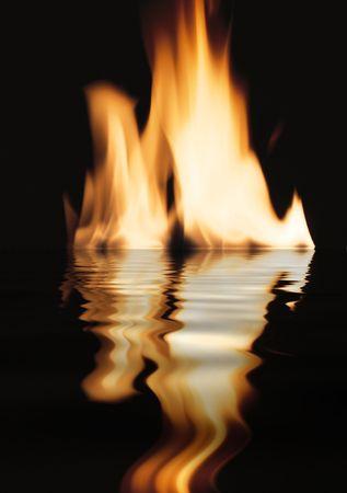 smolder: Fire Stock Photo