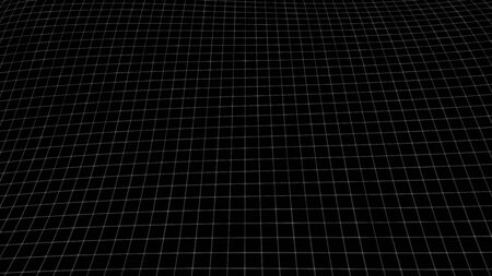 Vector perspective grid. Abstract background of multiple lines.