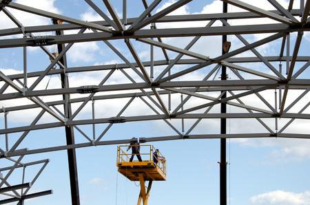 Metal construction photo