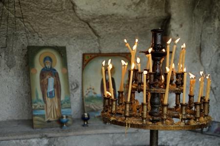 mystery of faith: Candles in church
