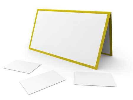Calendar and cut-aways on the white isolated background Stock Photo - 17744755