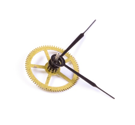 escapement: Hours close up