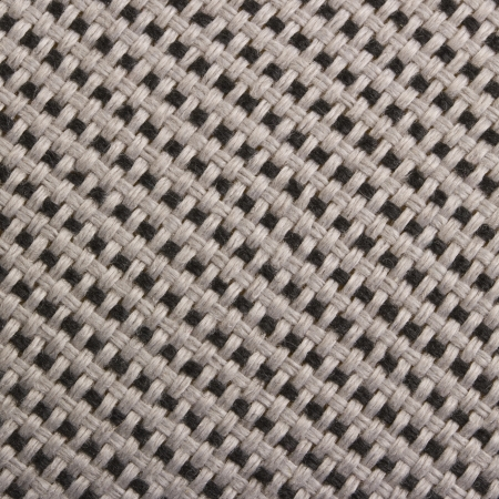 macro: Black and white fabric texture Stock Photo