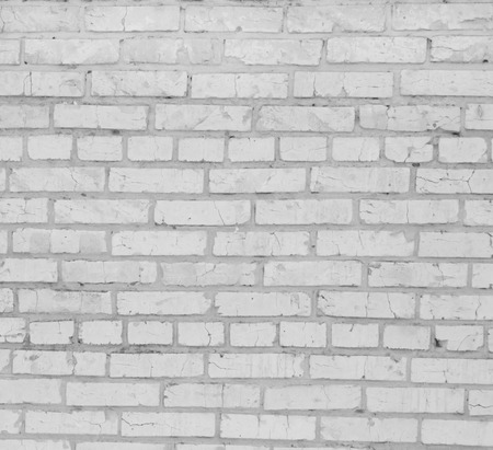 Background from a white brick wall