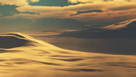 sand dunes: Sand dunes at sunset hot