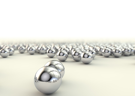 steel balls: Background of steel balls bearings on the floor