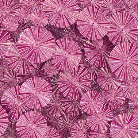 Abstract texture of pink glossy papers