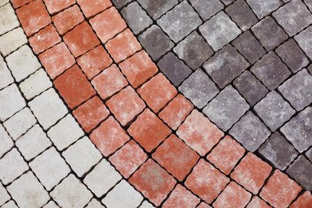 slabs: Color paving slabs