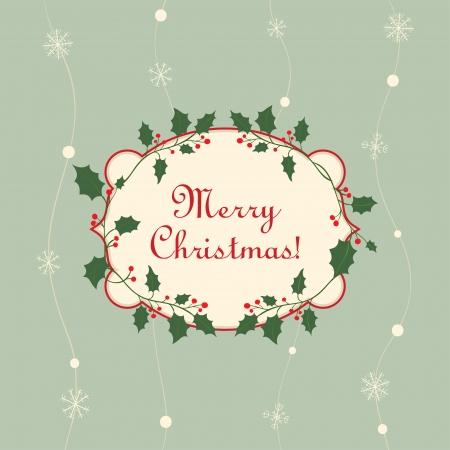 Une conception de l'étiquette de Noël Banque d'images - 23763817