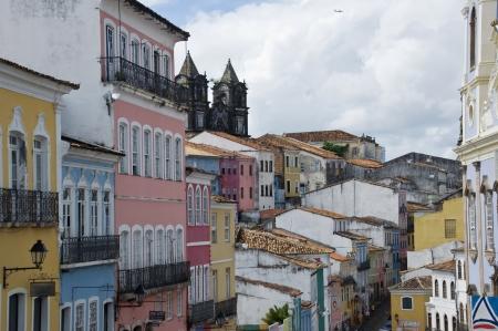 Historic center Pelourinho, Salvador de Bahia, Brazil