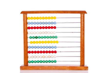 Educational colorful abacus
