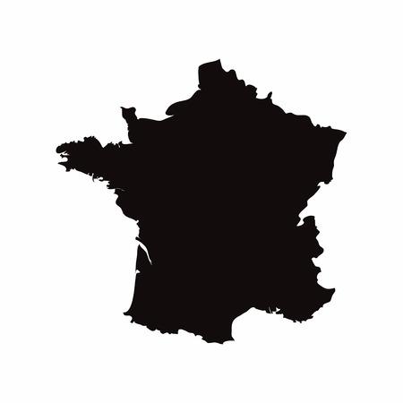 프랑스 벡터 국가지도