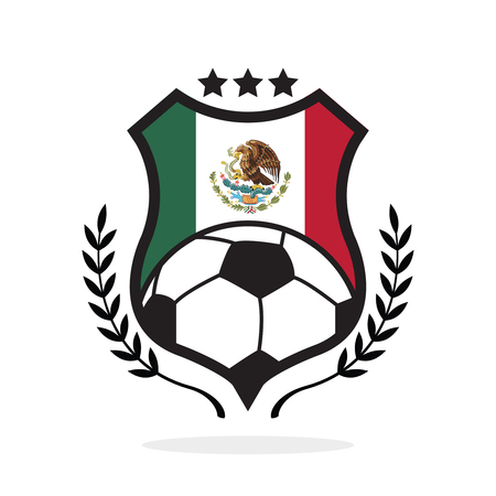 Mexico national flag football crest