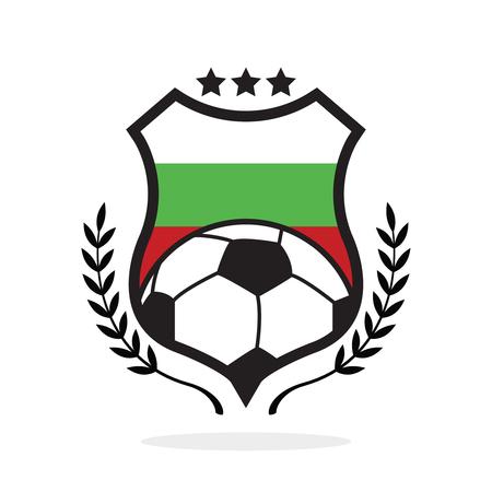 Bulgaria national flag football crest