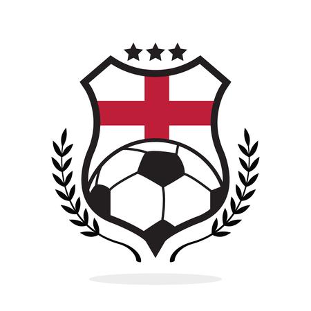 England national flag football crest