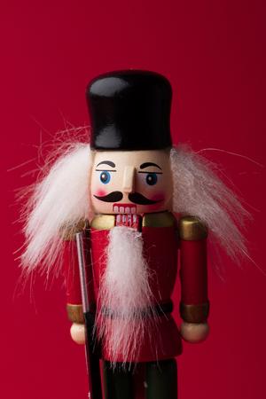 Festive christmas nutcracker soldier toy