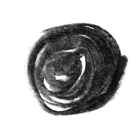 Zwarte houtskool grunge textuur