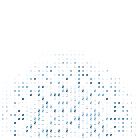 0 と 1 で作られたバイナリ コード デジタル技術の背景 写真素材