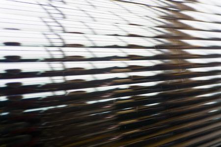 抽象的な透明なガラスラインの背景