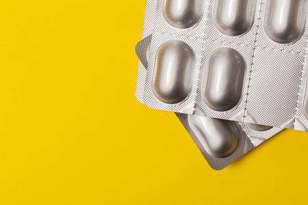 Blister drug pack of medical tablets