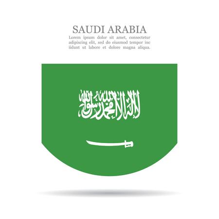 サウジアラビア国旗ベクトルアイコン