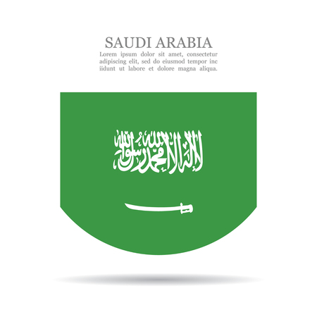 Saudi Arabia national flag vector icon
